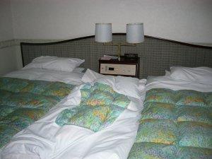 フラワーガーデンホテルの部屋