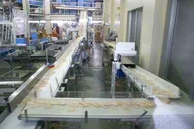 えびせんべい工場
