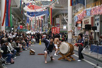 本町こいのぼりフェスティバル