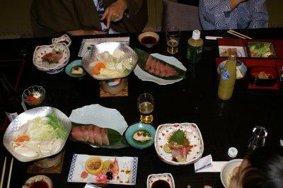 榊原温泉白雲荘食事