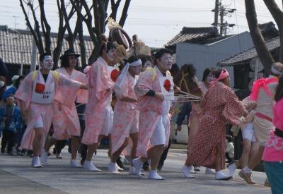 真清田神社桃花祭