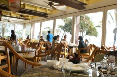 ルネッサンスリゾート沖縄のセイルフィッシュカフェ