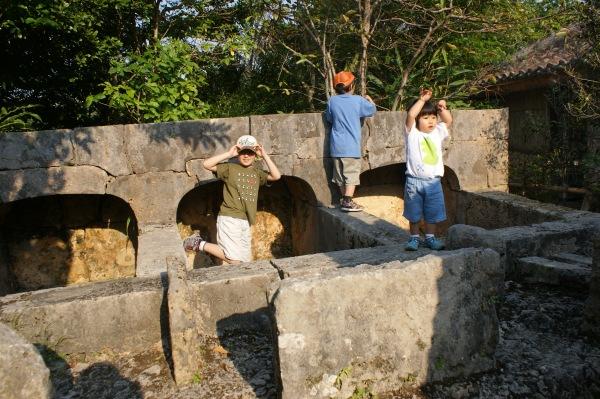 琉球村の豚小屋