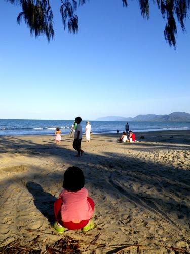 ポートダグラスのビーチ