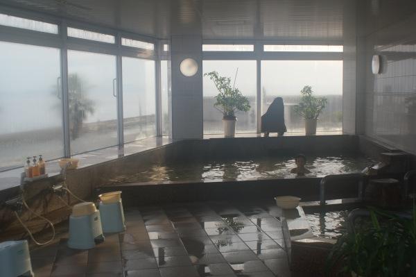 山海館の大浴場