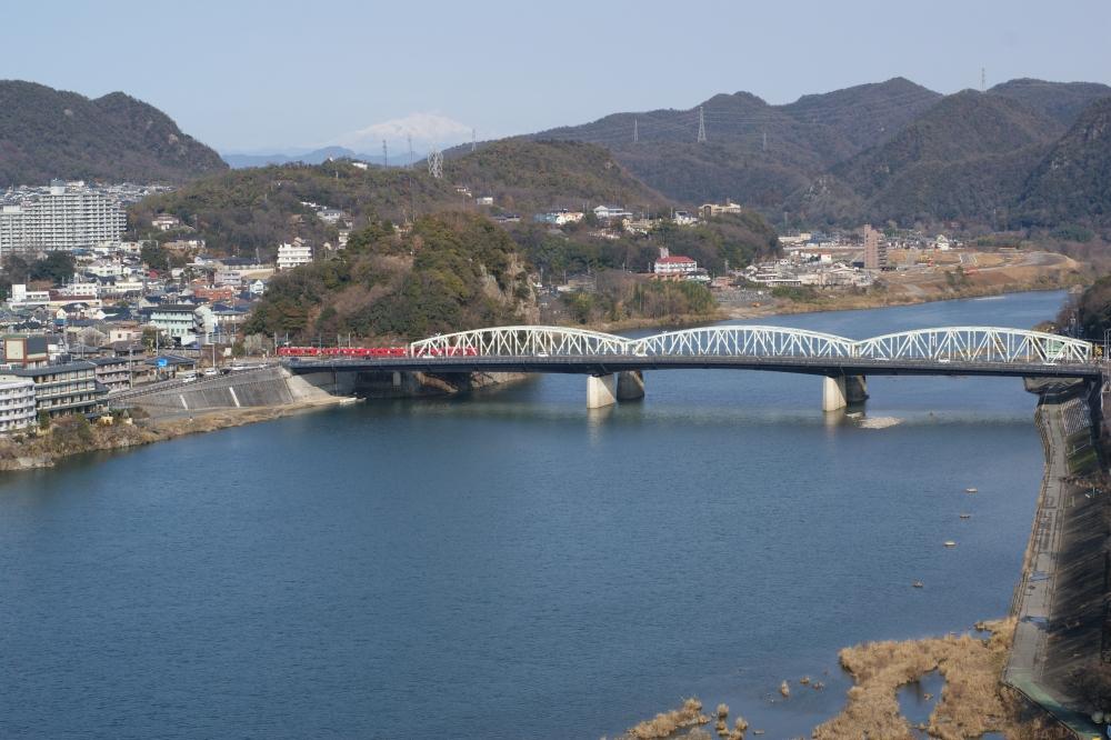 犬山城天守閣からの風景