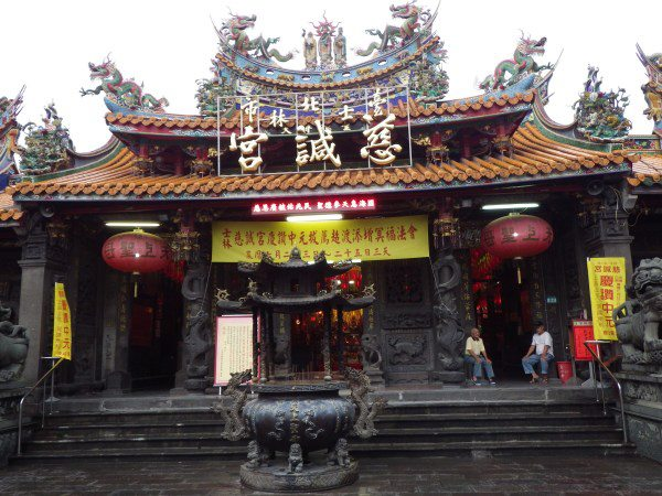 士林のお寺