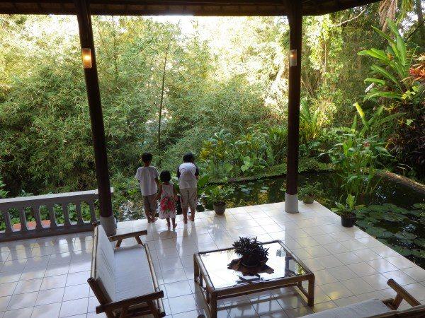 バリ島ウブドの家