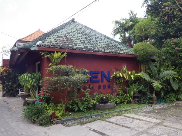 Zen spaの建物外観