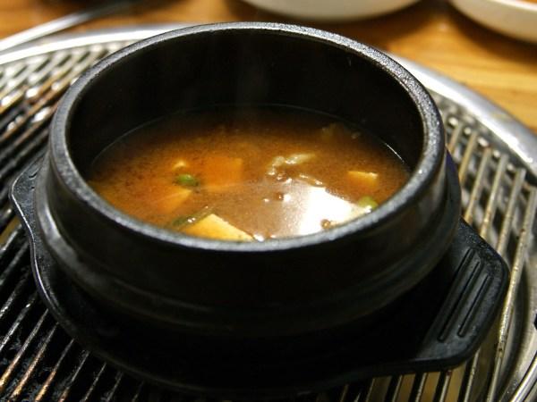 韓国風味噌汁 チゲ