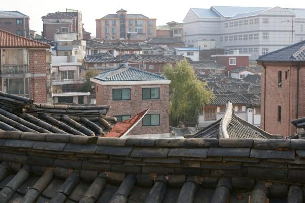 ソウル北村のたたずまい
