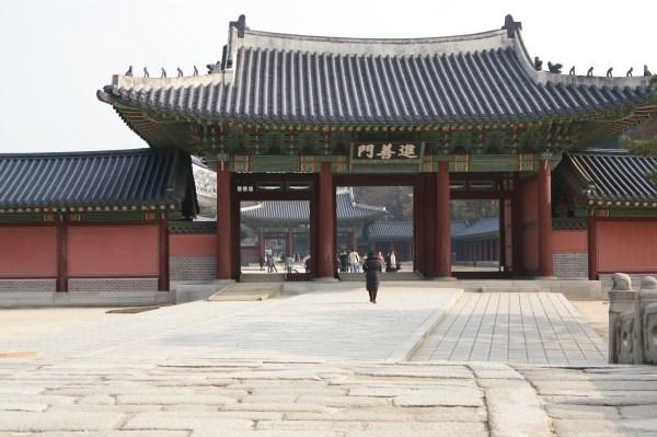 昌徳宮の進善門
